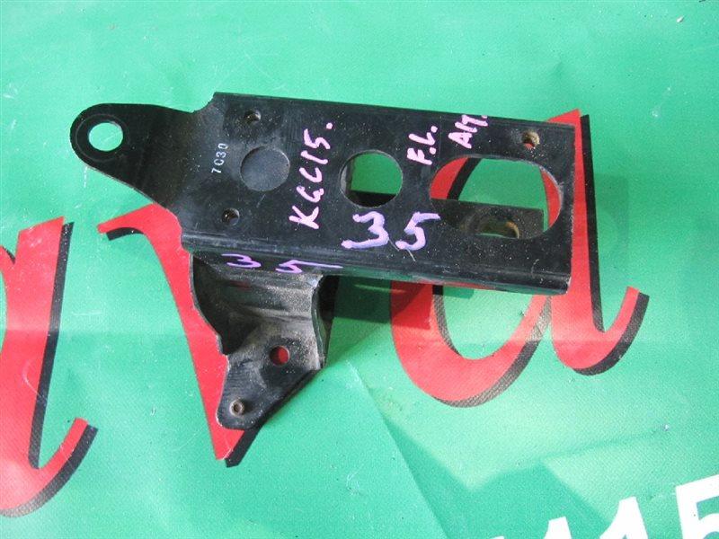 Подушка двигателя Toyota Passo KGC15 1KR-FE 2005 передняя левая (б/у)