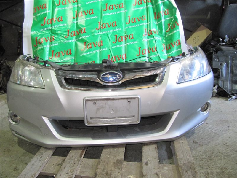 Ноускат Subaru Exiga YA5 EJ204 2008 передний (б/у) А/T,+ТРОС КАПОТА,ТУМАНКИ, XENON.