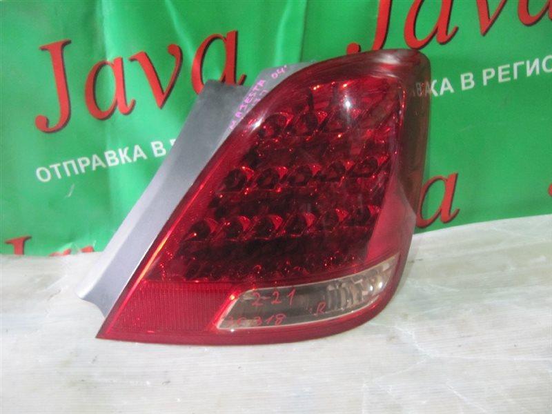 Стоп-сигнал Toyota Crown Majesta UZS187 2004 задний правый (б/у)