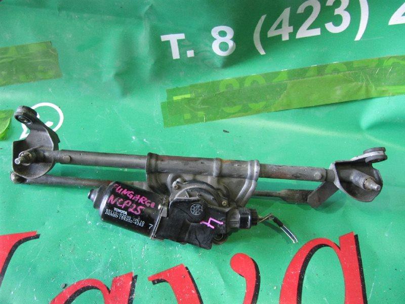 Мотор стеклоочистителя Toyota Funcargo NCP25 2001 (б/у)