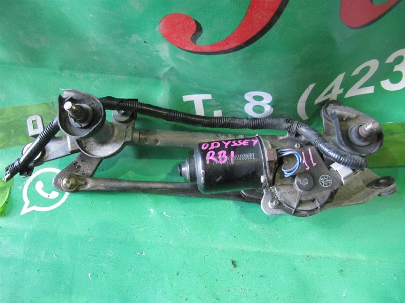 Мотор стеклоочистителя Honda Odyssey RB1 K24A 2007 (б/у)