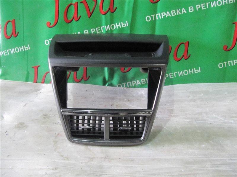 Консоль магнитофона Subaru Exiga YA5 EJ204 2008 (б/у)