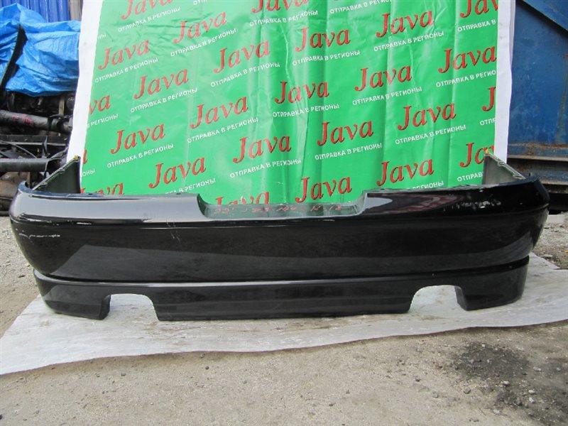 Бампер Toyota Crown Majesta JZS149 2JZ-GE 1992 задний (б/у) ПОТЕРТОСТИ,ГУБА