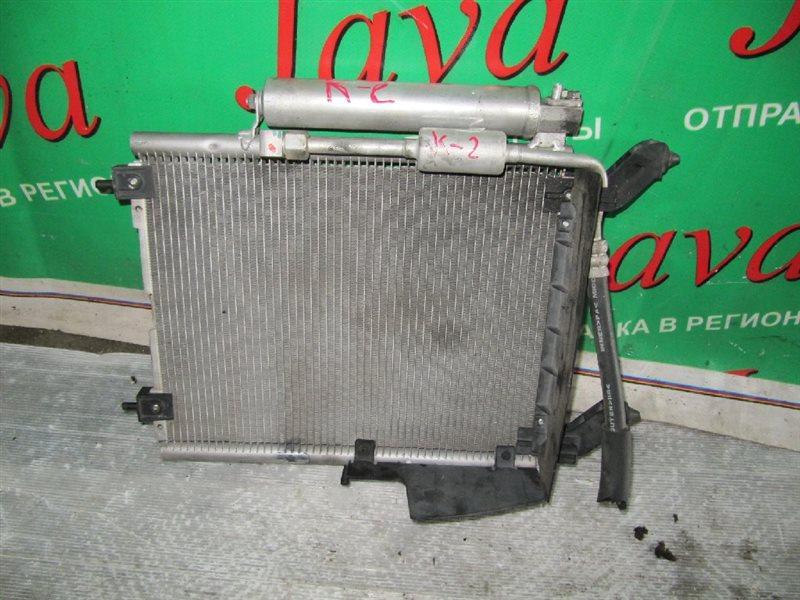 Радиатор кондиционера Mitsubishi Ek Sport H82W 3G83-T 2008 передний (б/у)