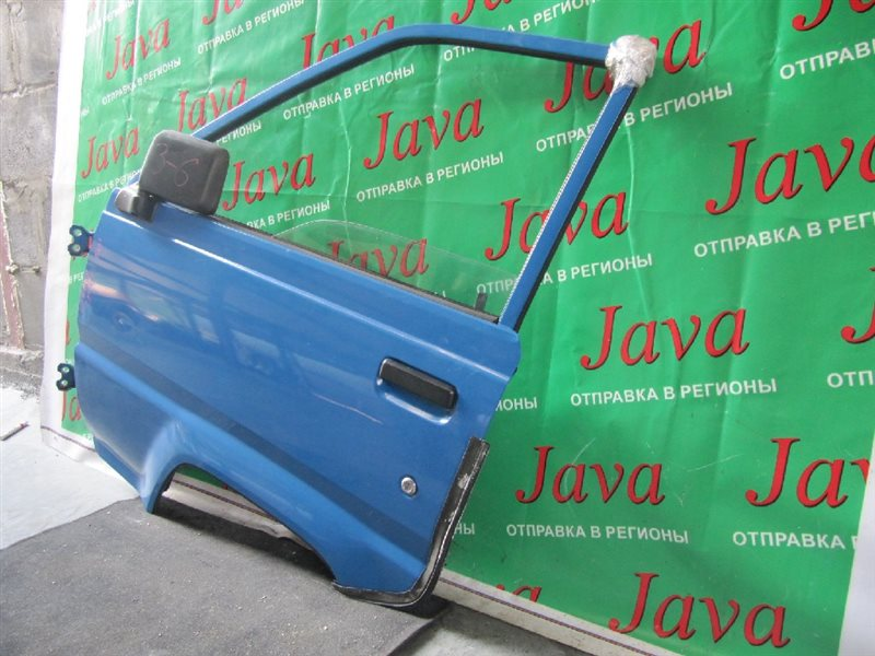 Дверь Toyota Lite Ace CM85 2000 передняя левая (б/у) TRIM/FA14, Б/З ЗЕРКАЛА, СКОЛ КРАСКИ