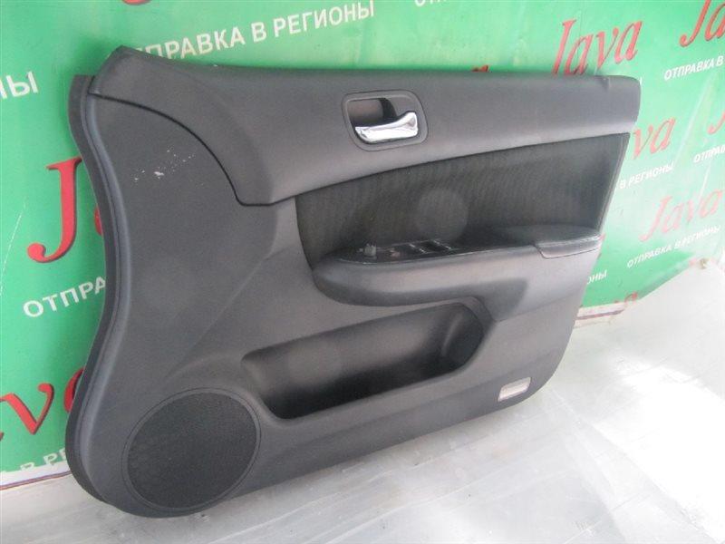 Обшивка дверей Honda Accord CL8 K20A 2003 передняя левая (б/у) + БЛОК УПРАВЛЕНИЯ СТЕКЛОМ