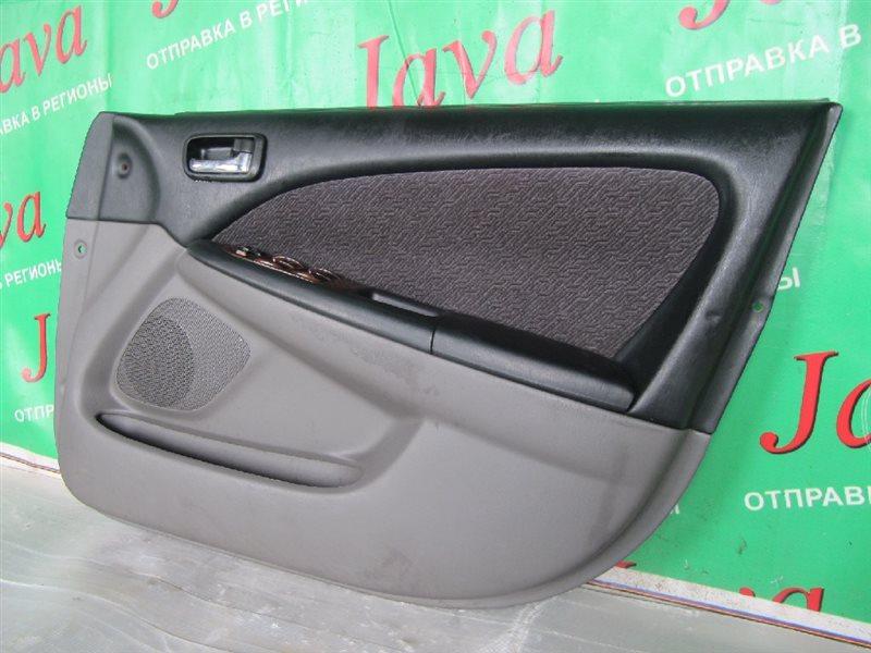 Обшивка дверей Toyota Caldina ST215 1999 передняя правая (б/у) TRIM FB26, БЕЗ РУЧКИ ОТКРЫВАНИЯ