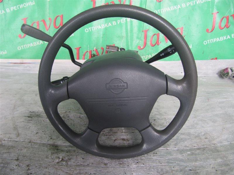 Рулевая колонка Nissan Presage NU30 KA24DE 2000 (б/у) +КЛЮЧ, БЕЗ ПОТРОНА, В СБОРЕ (ВОЗМОЖНО В РАЗБОР), AIRBAG .  ПОСЛЕ ФОТО УПАКОВАНО.