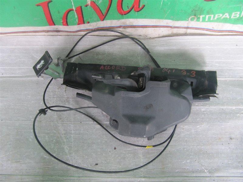 Планка телевизора Honda Accord CL8 K20A 2003 (б/у) +замок+трос