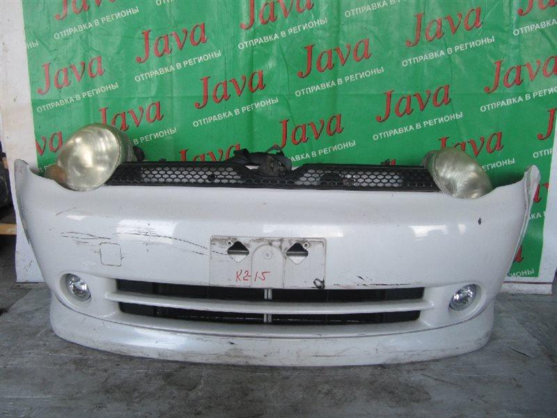 Ноускат Toyota Sienta NCP81 1NZ-FE 2004 передний (б/у) A/T,  ГУБА, ТУМАНКИ, XENON, КОРРЕКТОР