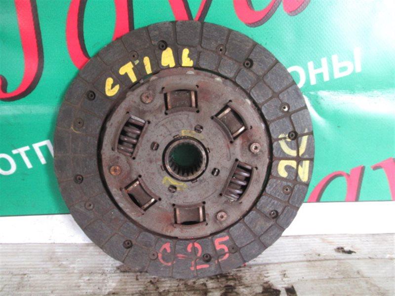 Диск сцепления Toyota Caldina CT196 2C 1998 (б/у) ДИАМЕРТ ДИСКА 225ММ