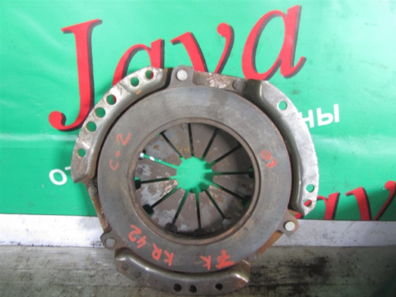 Корзина сцепления Toyota Noah KR42 7K-E 2000 (б/у) ДИАМЕТР 200ММ