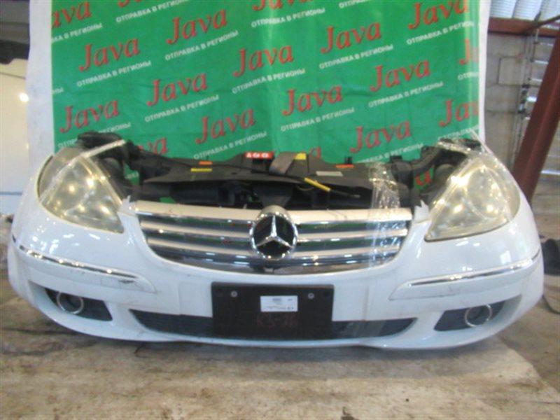 Ноускат Mercedes-Benz A-Class W169 M266E20 2005 передний (б/у) А170 А/Т, ПОТЕРТОСТИ, ТУМАНКИ, XENON, WDD1690322J159638