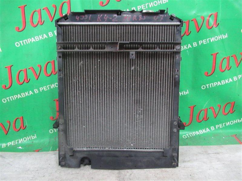 Радиатор основной Isuzu Elf NPR85 4JJ1 2007 передний (б/у) А/Т