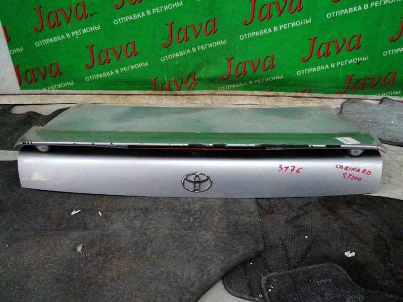 Крышка багажника Toyota Carina Ed ST200 4S-FE 1997 задняя (б/у) СПОЙЛЕР ( ПОЛЕЗЛА КРАСКА )