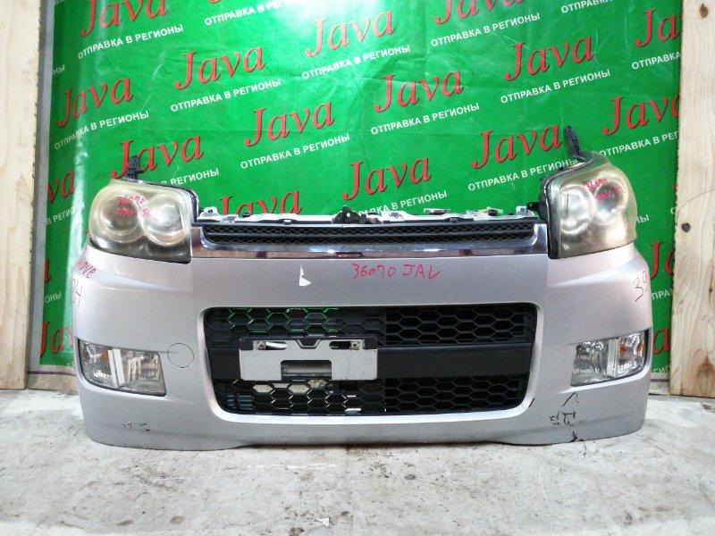 Ноускат Daihatsu Move L185S 2008 передний (б/у) КСЕНОН. ТУМАНКИ. А/Т. ЦАРАПИНЫ НА БАМПЕРЕ.
