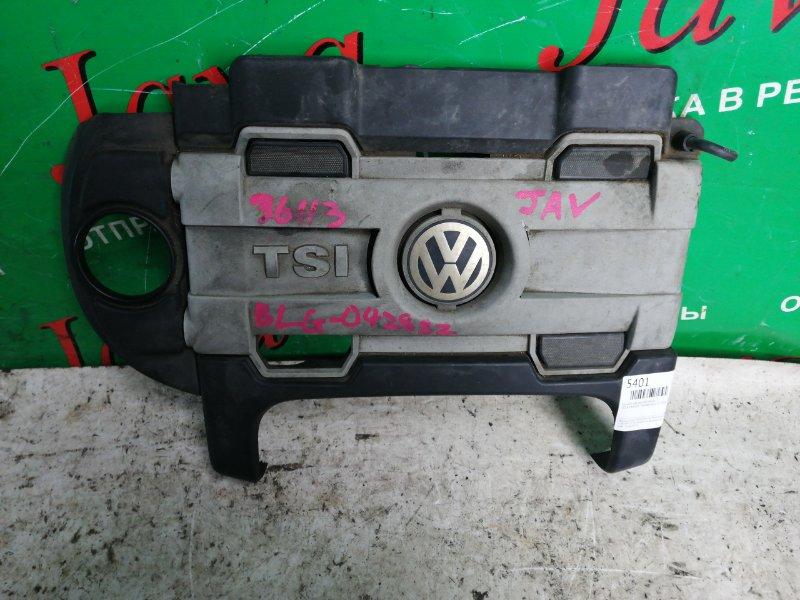 Крышка двс декоративная Volkswagen Touran 1T2 BLG 2009 (б/у)