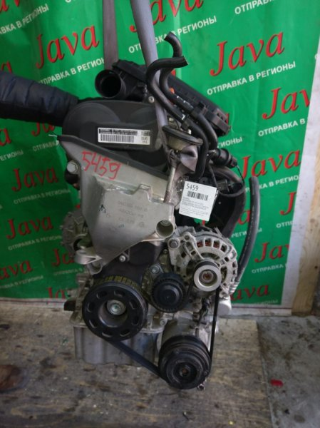 Двигатель Volkswagen Up! 121 CHY 2013 (б/у) ПРОБЕГ-28000КМ. 2WD. А/Т. КОСА+КОМП.  СТАРТЕР В КОМПЛЕКТЕ. ДЕФЕКТ ВПУСКНОГО КОЛЛЕКТОРА. WVWZZZAAZDD040649
