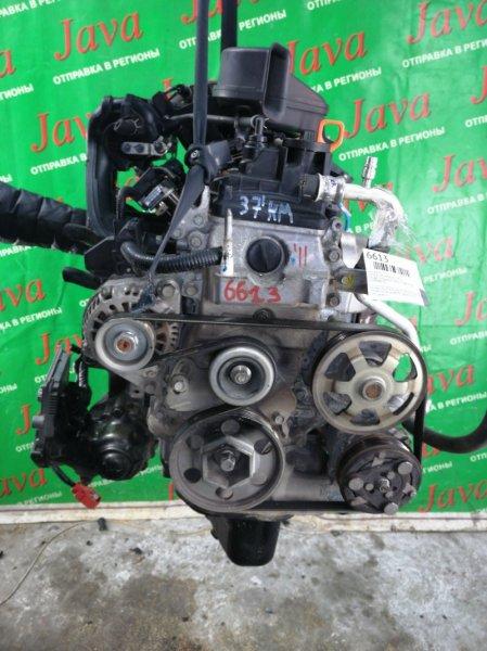 Двигатель Honda Life JC2 P07A 2011 (б/у) ПРОБЕГ-37000КМ. 4WD. +КОМП. ПРОДАЖА БЕЗ  КАТАЛИЗАТОРА. ЭЛЕКТРО ЗАСЛОНКА. СТАРТЕР В КОМПЛЕКТЕ.