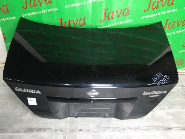 Крышка багажника Nissan Gloria HY34 VQ30DD 2002 задняя (б/у)