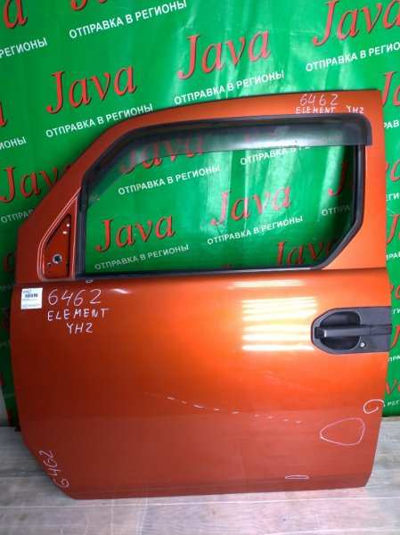 Дверь Honda Element YH2 K24A 2003 передняя левая (б/у) ПОТЕРТОСТИ.