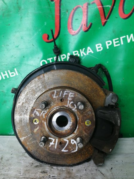 Ступица Honda Life JC2 P07A 2011 передняя правая (б/у) 4WD