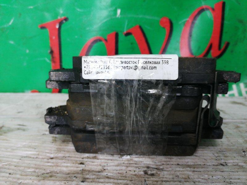 Колодки тормозные Honda Accord CF3 F18B 2000 передние (б/у) КОМПЛЕКТ