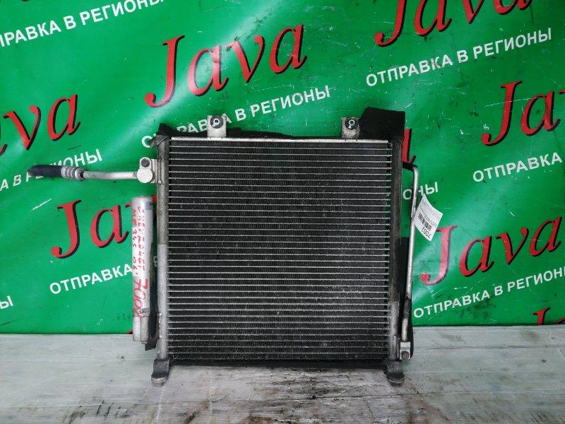 Радиатор кондиционера Chevrolet Mw ME34S M13A 2006 передний (б/у)