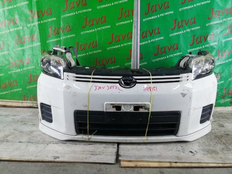 Ноускат Toyota Corolla Rumion NZE151 1NZ-FE 2008 передний (б/у) ГУБА. ПОТЕРТОСТИ. A/T.