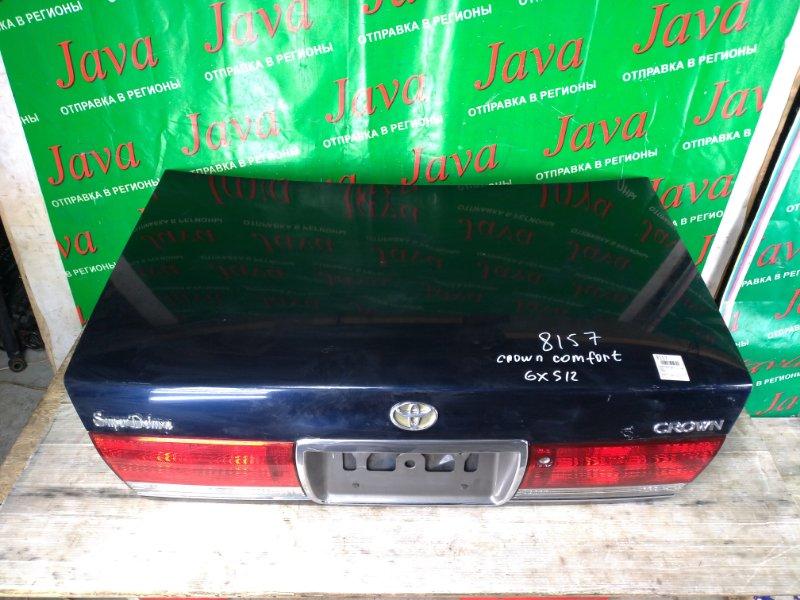 Крышка багажника Toyota Crown Comfort GXS12 2004 задняя (б/у) + КАМЕРА.