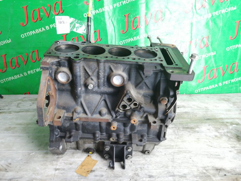 Блок двигателя Mini Cooper R50 W10B16A 2002 (б/у) ГТД имеются. +Коленвал, поршня, шкив.