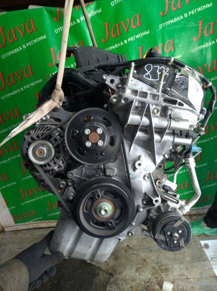 Двигатель Mitsubishi Delica D2 MB15S K12B 2013 (б/у) ПРОБЕГ-19000КМ. +КОМП.ПРОДАЖА БЕЗ КАТАЛИЗАТОРА.  2WD. ПОД А/Т. СТАРТЕР В КОМПЛЕКТЕ.