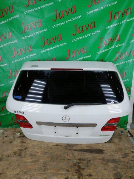 Дверь задняя Mercedes-Benz B-Class W245 M266E17 2006 задняя (б/у) WDD2452322J062798