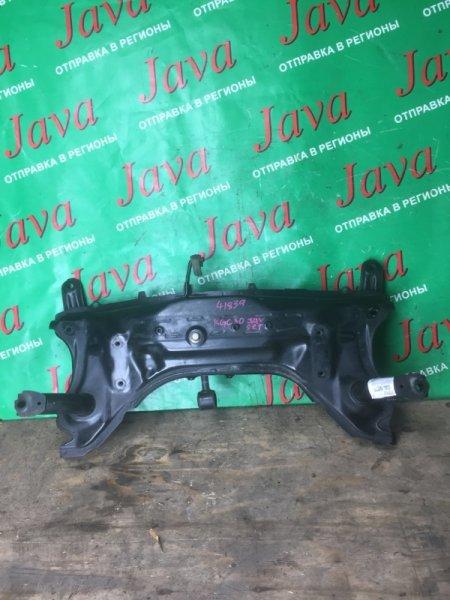 Балка под двс Toyota Passo KGC30 1KR-FE 2012 передняя (б/у) ПОПЕРЕЧНАЯ