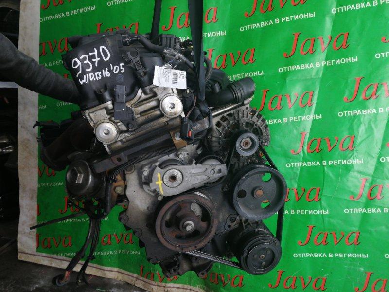 Двигатель Mini Cooper R50 W10B16A 2005 (б/у) ПРОБЕГ-47000КМ. 2WD. КОСА+КОМП. ПОД А/Т. СТАРТЕР В КОМПЛЕКТЕ. WMWRC32020TJ19273