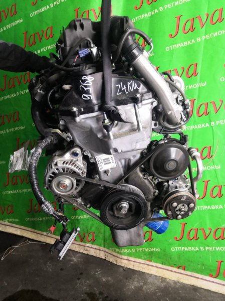 Двигатель Honda N-One JG1 S07A-T 2013 (б/у) ПРОБЕГ-24000КМ. 2WD.+КОМП.  ПОД А/Т. СТАРТЕР В КОМПЛЕКТЕ. TURBO.