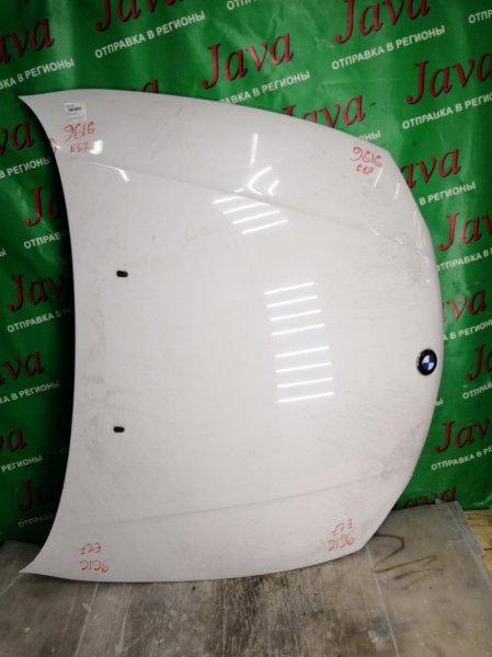 Капот Bmw 1-Series E87 N45B16 2005 передний (б/у) WBAUF12070PN27833 / 116i. СКОЛ КРАСКИ.
