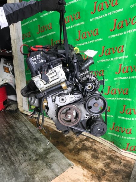 Двигатель Mini Cooper R50 W10B16A 2006 (б/у) ПРОБЕГ-37000КМ. 2WD. +КОМП. ПОД А/Т. СТАРТЕР В КОМПЛЕКТЕ. WMWRC32010TJ24657. ВЫПУСКНОЙ КОЛЛЕКТОР ОБРЕЗАН.