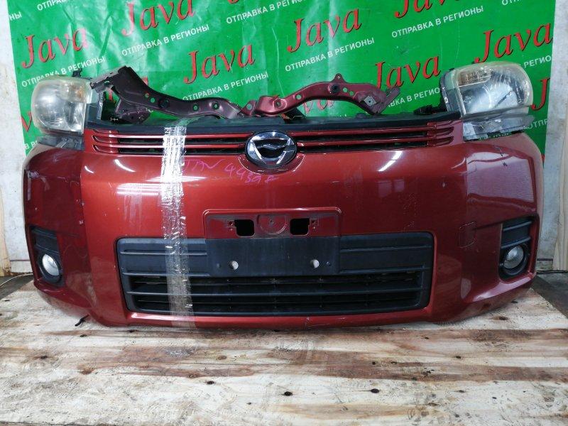 Ноускат Toyota Corolla Rumion NZE151 1NZ-FE 2008 передний (б/у) ТУМАНКИ. ПОТЕРТОСТЬ НА БАМПЕРЕ. A/T