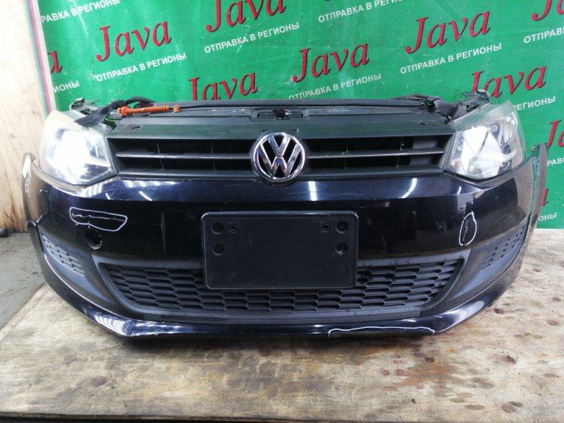 Ноускат Volkswagen Polo 6R1 AHW 2010 передний (б/у) ПОТЕРТОСТИ НА БАМПЕРЕ.ПОД АКПП.  WVWZZZ6RZAU019028