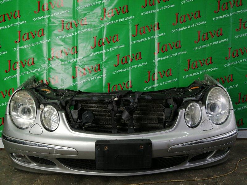 Ноускат Mercedes-Benz E-Class W211 M112.913 2005 передний (б/у) КСЕНОН. ТУМАНКИ. WDB2112612A679417. E240. ПОД АКПП.