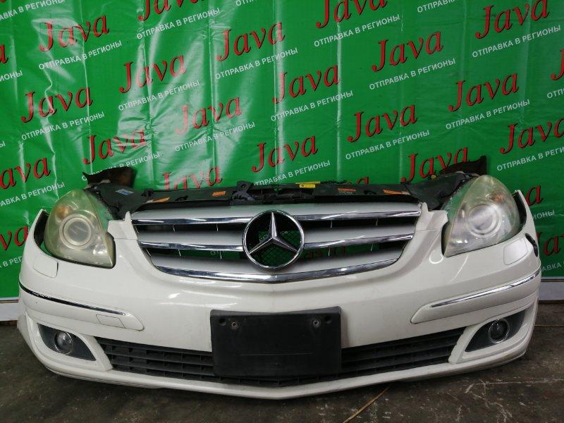 Ноускат Mercedes-Benz B-Class W245 M266E17 2007 передний (б/у) КСЕНОН. ТУМАНКИ. ОМЫВАТЕЛЬ ФАР. B170. WDD2452322J208363. ПОД АКПП.