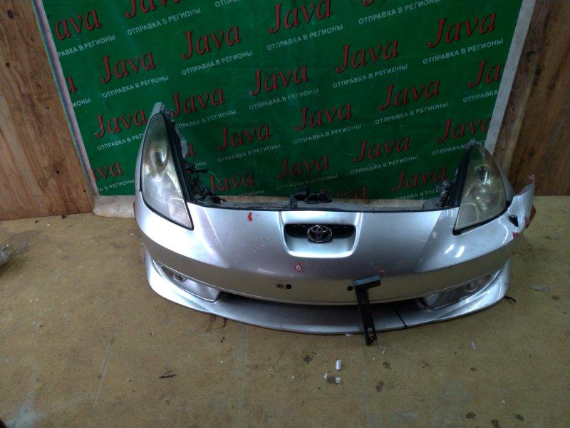 Ноускат Toyota Celica ZZT231 2ZZ-GE 2000 передний (б/у) 1-Я МОД. НЕ ШТАТНЫЙ КСЕНОН. ТУМАНКИ. ГУБА.  А/Т. ДЕФЕКТ РАДИАТОРА КОНДИЦИОНЕРА.