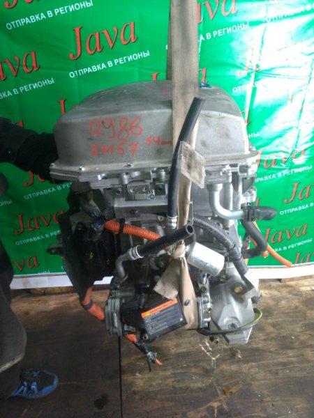 Двигатель Nissan Leaf AZE0 EM57 2013 (б/у) ПРОБЕГ-54000КМ. 2WD.+КОМП.