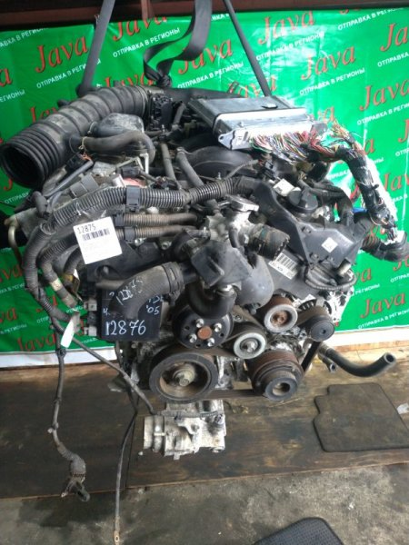 Двигатель Toyota Mark X GRX121 3GR-FSE 2005 (б/у) ПРОБЕГ-46000КМ. КОСА+КОМП. 2WD. ПОД А/Т. СТАРТЕР В КОМПЛЕКТЕ. ЛОМ ДАТЧИКА VVT-I.