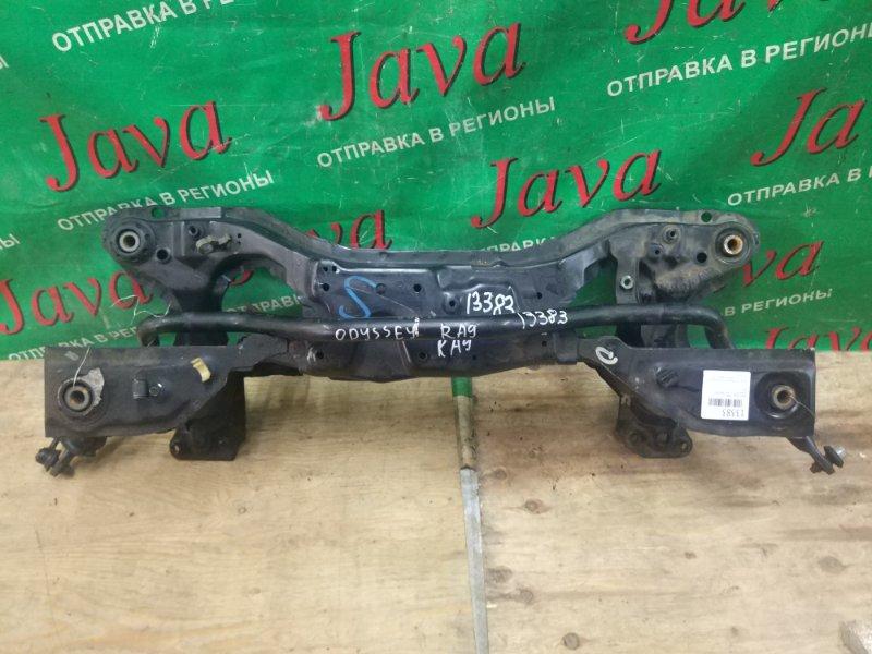 Балка под двс Honda Odyssey RA9 J30A 2002 передняя (б/у) 4WD Под рулевую рейку