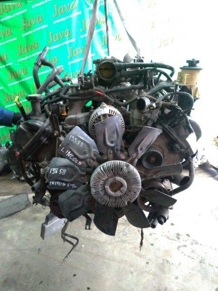 Двигатель Lincoln Navigator UN173 TRITON54L 2001 (б/у) ПРОБЕГ-43000КМ. 4WD. +КОМП. ПОД А/Т. СТАРТЕР В КОМПЛЕКТЕ. 5LMPU28L7WLJ09696