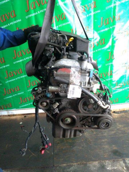 Двигатель Nissan Moco MG22S K6A 2008 (б/у) ПРОБЕГ-38000КМ. 2WD. МЕХ.ЗАСЛОНКА. ПОД А/Т. СТАРТЕР В КОМПЛЕКТЕ.