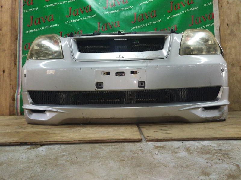 Ноускат Mitsubishi Dion CR5W 4G93T 2002 передний (б/у) 2-Я МОД. КСЕНОН. ГУБА.  A/T