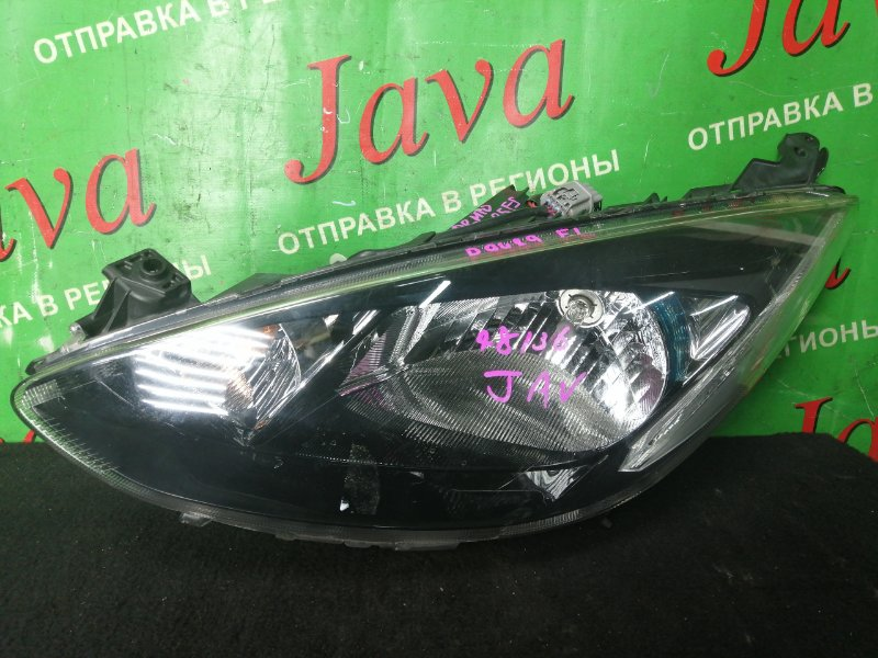 Фара Mazda Demio DE3FS ZJ-VE 2012 передняя левая (б/у) P9489